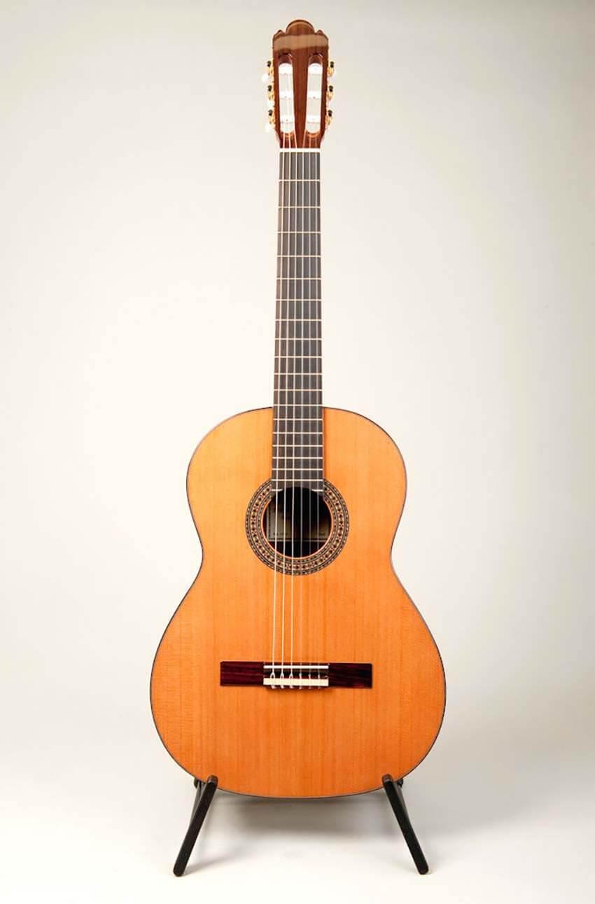 spanish guitars sanchez model 1015 cedar. Black Bedroom Furniture Sets. Home Design Ideas