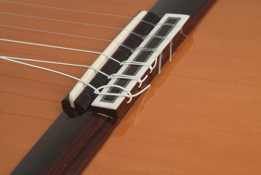 How To Tie Classical Guitar Strings